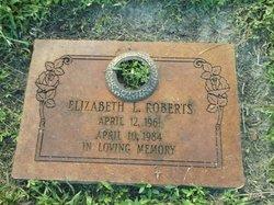 Elizabeth L Roberts