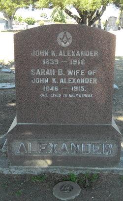 John K Alexander