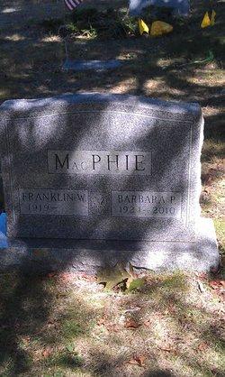 Barbara <i>Preston</i> MacPhie