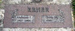 Irene Marie <i>Zollner</i> Ebner