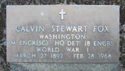 Calvin Stewart Fox