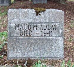Maud <i>Church</i> McAulay