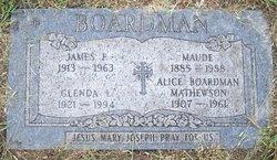 Maude <i>Stevenson</i> Boardman