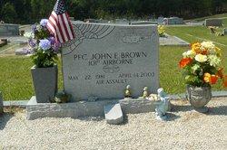 Pvt Johnny Eli Brown