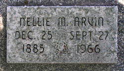 Nellie M <i>Strode</i> Arvin
