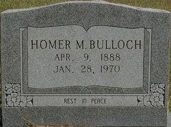 Homer M Bulloch