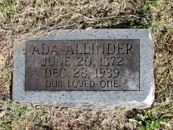 Ada Leila <i>Ellis</i> Allinder