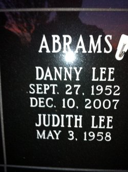 Danny Lee Abrams