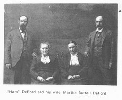 Martha A <i>Towler</i> DeFord