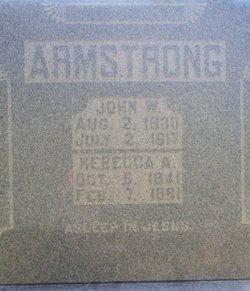 Rebecca Ann <i>Graves</i> Armstrong