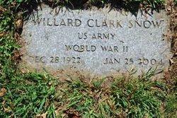Willard Clark Snow