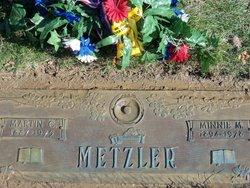 Minnie M. <i>Hadley</i> Backstrom Metzler