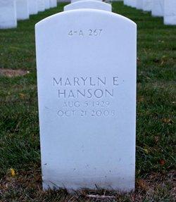 Maryln Elaine <i>Holsnagel</i> Hanson