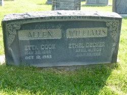 Etta <i>Cook</i> Allen