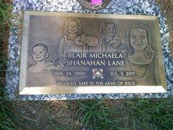 Blair Michaela Shanahan Lane