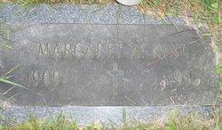 Margaret A <i>Born</i> King