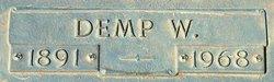 Dempsey W Demp Smith