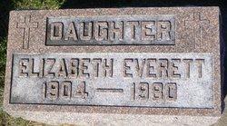 Elizabeth M. <i>Mapes</i> Everett