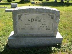 Ida May <i>Taylor</i> Adams
