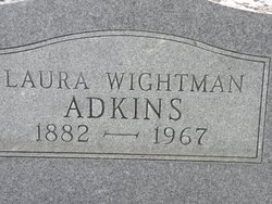 Laura <i>Wightman</i> Adkins