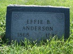 Effie <i>Bristol</i> Anderson