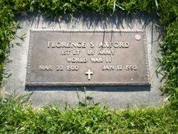 Florence <i>Staples</i> Axford