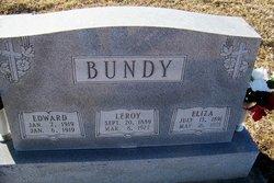 Eliza Jane <i>Bush</i> Bundy