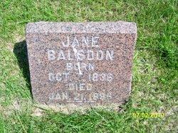 Jane <i>Branch</i> Balsdon