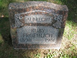 Ruby <i>Froehlick</i> Albrecht
