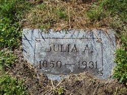Julia Ann <i>Judkins</i> Clark