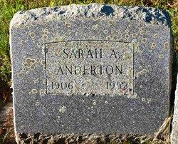 Sarah A Anderton