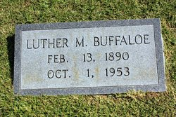 Luther M Buffaloe