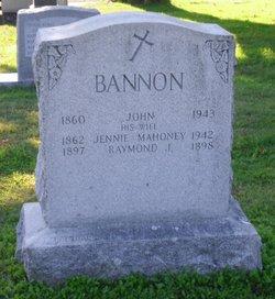 Jennie <i>Mahoney</i> Bannon