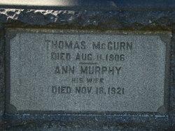 Ann <i>Murphy</i> McGurn