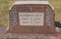 Katherina <i>Senger</i> Erck