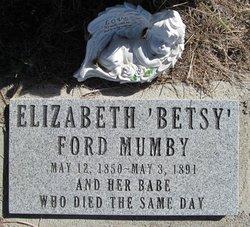 Elizabeth Betsy <i>Ford</i> Mumby