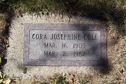 Cora Josephine <i>Gunderson</i> Cole