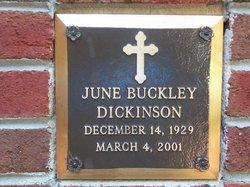 June Buckley Dickinson
