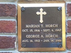 Marian T Horch