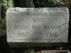 Bessie May <i>LeFevre</i> Baader