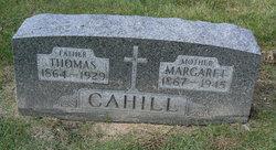 Margareth Margaret <i>Millett</i> Cahill