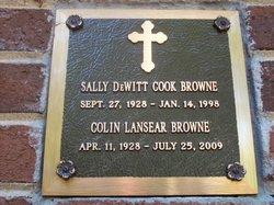 Sally DeWitt Cook Browne