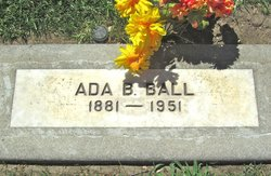 Ada Bell <i>Jones</i> Ball