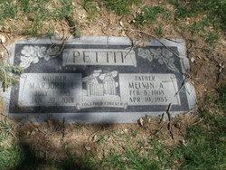 Melvin A Pettit