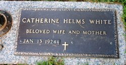 Catherine <i>Helms</i> White