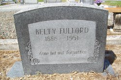 Belty Fulford