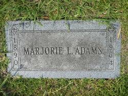 Marjorie Lappine Adams