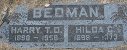 Harry Thomas Dunn Bedman, Sr