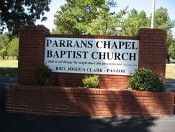Parrans Chapel Baptist Church Cemetery