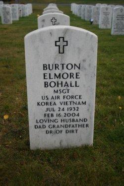 Sgt Burton Elmore Bohall